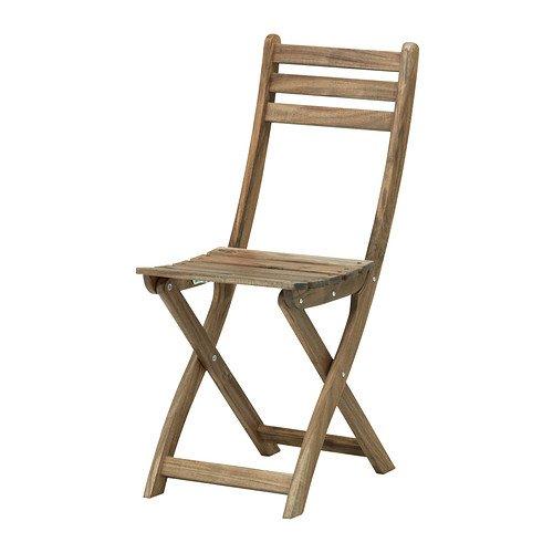 Ikea askholmen  IKEA ASKHOLMEN - Folding chair, grey-brown: Amazon.co.uk: Kitchen ...