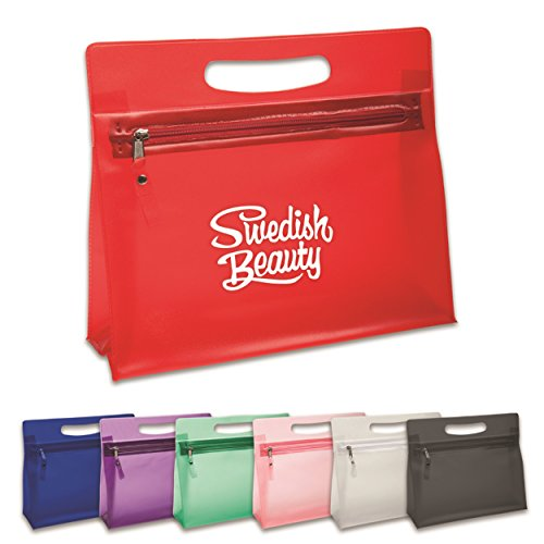 150 Personalized Diva Vanity Bag Printed with Your Logo or Message by Ummah Promotions