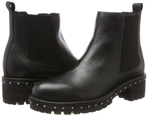 01 Noir black Bnew falkox 1417 Bx Femme Boots Bronx Chelsea gp1axqRw