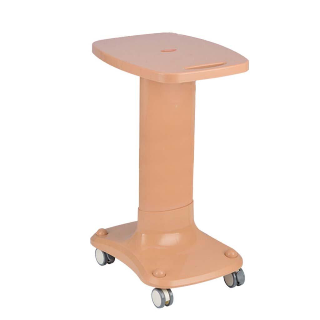 Medical trolley DELLT@ Carrelli per strumenti da tavolo, carrello per estetica, portastrumenti, rack mobili, gruppo a tre strati in ABS con carrello per ruote mediche, carico 60 kg DELLT UK
