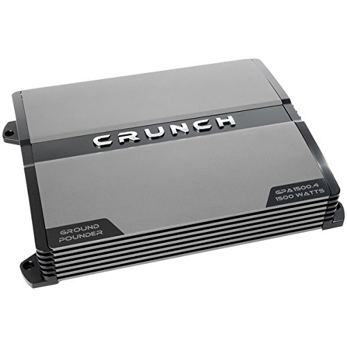 CRUNCH(R) Ref Cl A/B 4 Ch 1500 Amp Automotive Speakers & Amplifiers