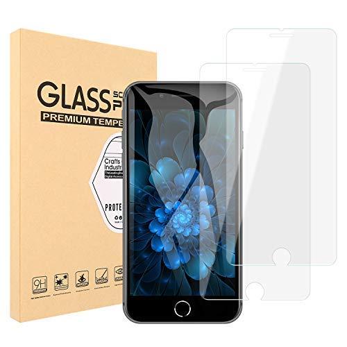 プロテスタントレパートリーバーベキュー【2枚セット】Maxtango iPhone8/7 plus ガラスフイルム【日本製素材旭硝子製】 ラウンドエッジ加工/高硬度9H/高透過率/3D Touch対応/自動吸着/気泡ゼロ アイフォン8/7 プラス 強化ガラスフィルム 液晶保護フイルム 全面フルカバー 5.5インチ対応 (透明)0.3mm