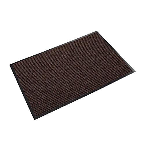 (Needle Rib Wipe & Scrape Mat, Polypropylene, 36 x 60, Brown)