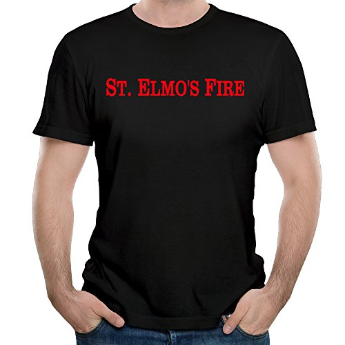 Men's Rob Lowe Film St. Elmo's Fire (1985) T-shirt