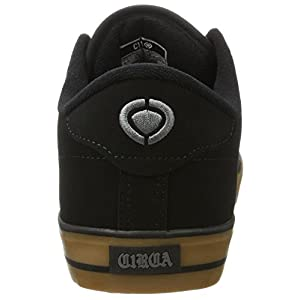 C1RCA Men's AL50 Adrian Lopez Lightweight Insole Skate Shoe Athletic Shoe, Black/Gum, 10.0 Medium US