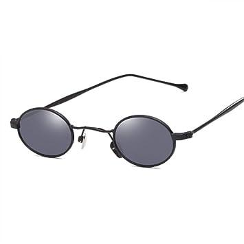 2THTHT2 Gafas Pequeñas Redondas Sungalsses De Metal para ...