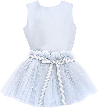 EVE CHILDREN - Conjunto para niña Azul Celeste. Top de Lurex y ...