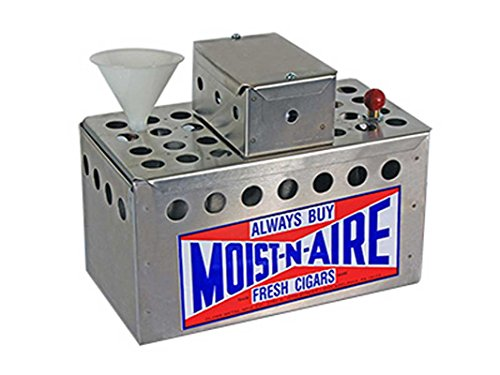 Moist n Air Cigar Humidifier w/ Remote Humidistat by Moist n Air