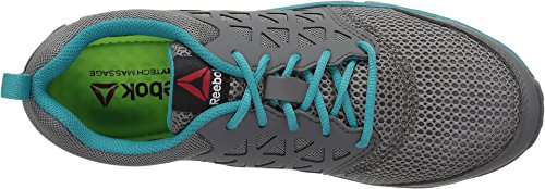 Reebok Women's Sublite Cushion RB045 Work Boot, Grey Turquoise, 9.5 M US by Reebok (Image #1)