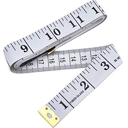 Soft Measuring Tape for Body Measuring, Body Cloth Measuring, Sewing Tailor Fabric Tape ... ()