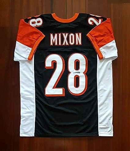 9e1a62bcc59 Joe Mixon Autographed Signed Jersey Cincinnati Bengals JSA at ...