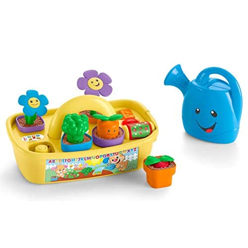 Fisher-Price Laugh & Learn Smart Stages Grow 'n Learn Garden Caddy [Amazon Exclusive]