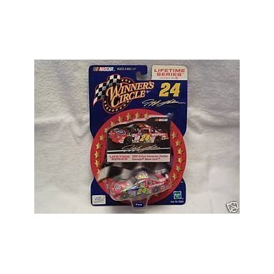 2000 Jeff Gordon #24 Dupont Reverse Rainbow Paint Scheme Charlotte AllStar Race May 2000 1/64 Scale Photo Sticker Edition Lifetime Series Edition Winners Circle: Toys & Games