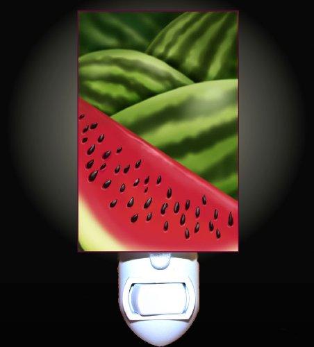 Summer Watermelons Decorative Nightlight