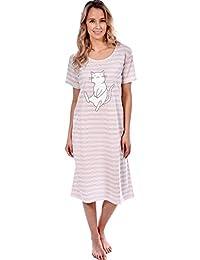 Patricia Women's Super Cute Happy Cat Print Pajama Sleepwear Sets