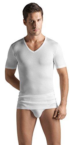 Hanro Men's Cotton Pure V-Neck -