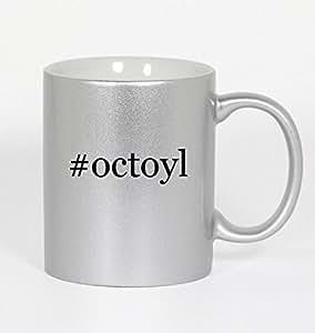 #octoyl - Funny Hashtag 11oz Silver Coffee Mug Cup