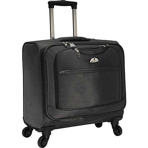 American Flyer South West 4-Wheel Professional Business Case, Black, One Size -