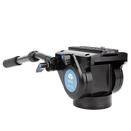 Sirui VH-15 Professional Fluid Video Head, 22 Lbs Capacity