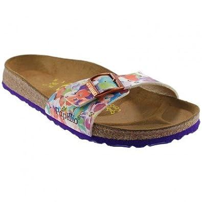 4417b74361a4 Birkenstock Papillio - Madrid Sandals - Lilac Vanilla Flower Orange   Amazon.co.uk  Shoes   Bags