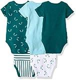 Hanes Ultimate Baby Flexy 5 Pack Short Sleeve