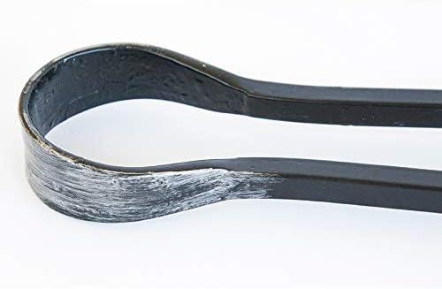Pince en acier forg/é pour chemin/ée cm 60/en fer forg/é