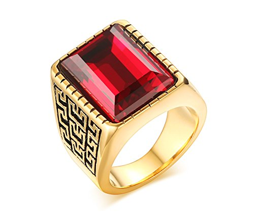 Ruby Pinky Ring - 3
