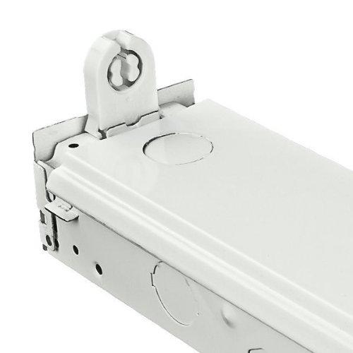 - Fluorescent Strip Fixture - 1 Lamp - F20T12 - 120 Volt - PLT S120