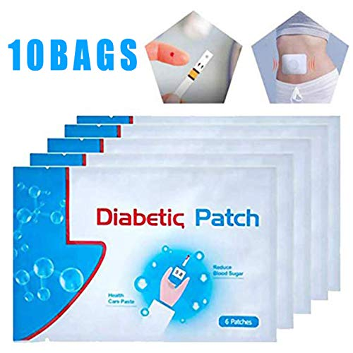 60pcs/10Bags Diabetes Pads, Pure Natural Herbal Diabetes Sticker