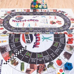 US Games Nutri-Cize The Game