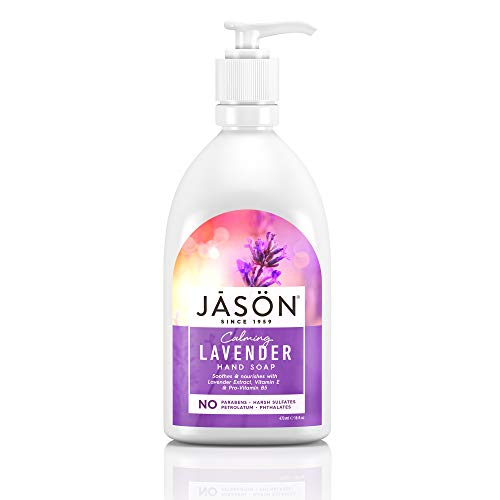 JASON Calming Lavender Hand Soap, 16 Ounce Bottle