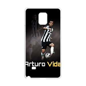 Samsung Galaxy S4 Phone Case White Arturo Vidal ZEC897972