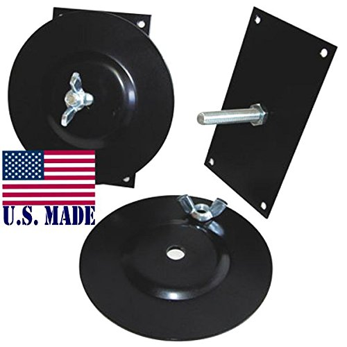 U.S. Made Vehicle MOUNTING Brackets (Pair) for Sand Ladders (Off-Road Recovery) by BILLET4X4