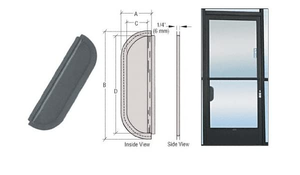"""CRL Duranodic Bronze 2-5//8/"""" x 9-5//8/"""" Standard Mail Slot Commercial Door"""