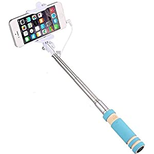 PaxMore Mini Selfie Stick for All Smartphones with Aux Cable 5
