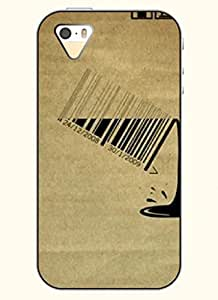 OOFIT Phone Case design with Barcode for Apple iPhone 5 5s 5g