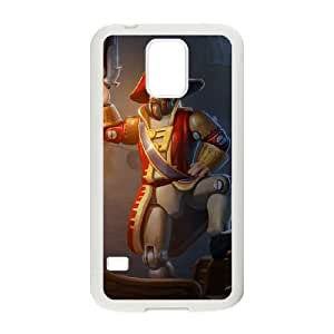 Samsung Galaxy S5 Phone Case Cover White League of Legends Toy Soldier Gangplank EUA15974089 Mobile Phone Case