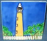 Ponce De Leon Lighthouse Light House Ceramic Wall Art Tile 8x8