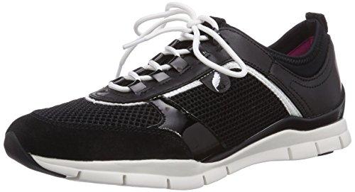Geox D Sukie B - Zapatillas para mujer negro - negro