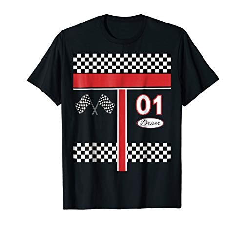 Race Car Driver Costume Shirt for