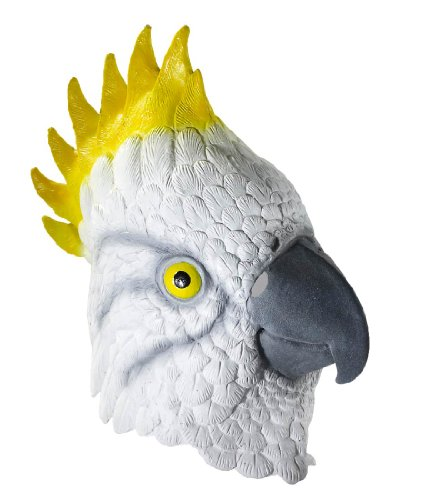 [Deluxe Latex Parrot Mask] (Deluxe Parrot Costumes)