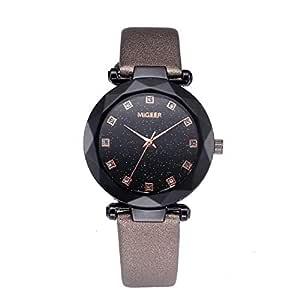 DAYLIN Marcas Relojes Mujer Señora Especiales Reloj de Cuarzo ...