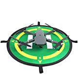 Shaluoman Foldable Landing Pad Waterproof Helipad 50cm With Compass Directions For MAVIC PRO