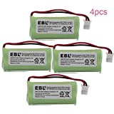 4 Pack of AT&T TL88002 Battery - Replacement for AT&T Cordless Phone Battery (800mAh, 2.4V, NI-MH)