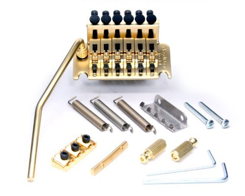 【 並行輸入品 】 Floyd Rose (フロイドローズ) Special Series Tremolo Bridge w/ R3SG Nut Satin Gold   B00JEFDYGE