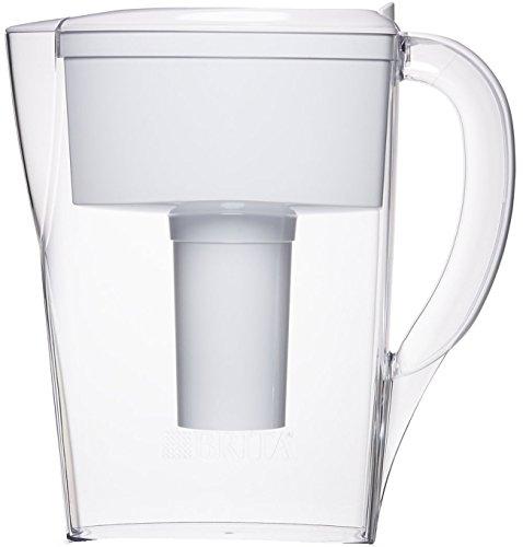 Brita Pitcher (Brita 6 Cup Space Saver BPA Free Water Pitcher with 1 Filter,)