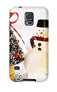 Best 3123404K75057100 Case Cover For Galaxy S5 - Retailer Packaging Holiday Christmas Protective Case