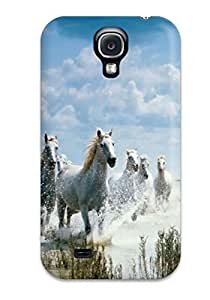 MNLKOMz7437JZyZN Horses By The Beach Horse Animal Horse Awesome High Quality Galaxy S4 Case Skin