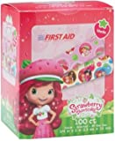 Strawberry Shortcake Sterile Adhesive Bandages 100 count