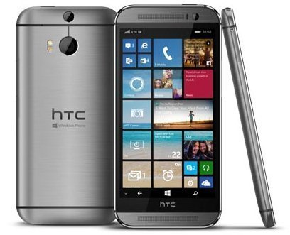 HTC One M8 for Windows, Gunmetal Grey 32GB (T-Mobile) (Phone Windows Htc 8)